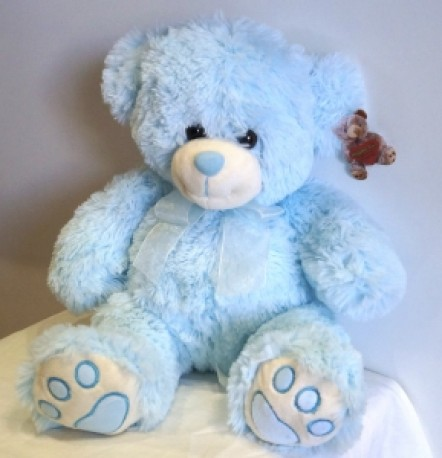 Charlie Medium Blue Bear