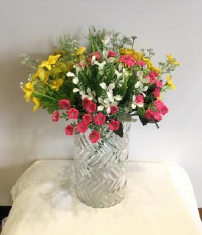 Cylinder Glass Vase 2