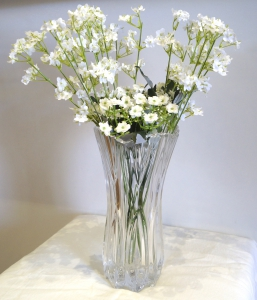 Crystal Glass Vase 1